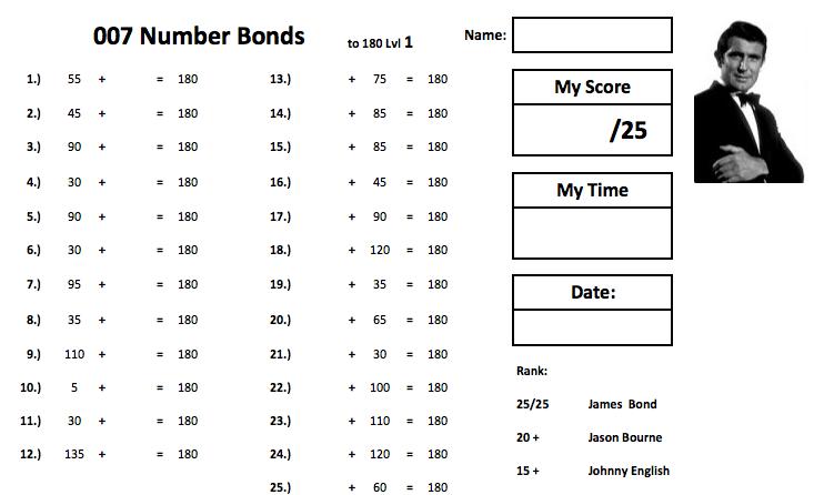 007 Number Bonds