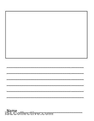 28 Images Of Elementary Handwriting Template