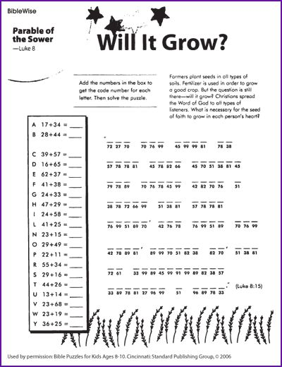 47 Best Bible  Nt Parable Of Sower Images On Free Worksheets Samples