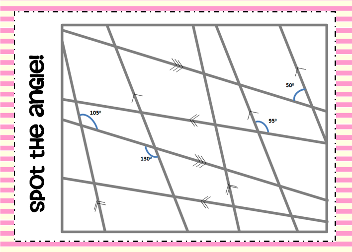 Angle Puzzles Worksheet Free Worksheets Library