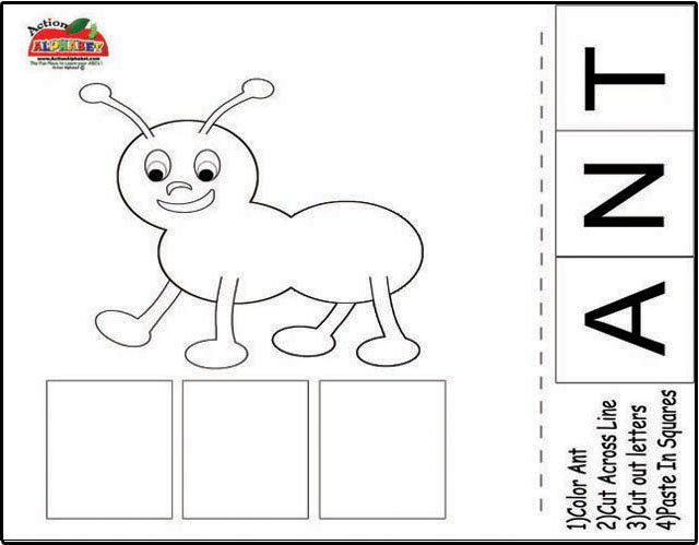 Ant Worksheets Free Worksheets Library