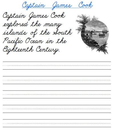 Cursive Writing Sentences Worksheets Free Worksheets Library