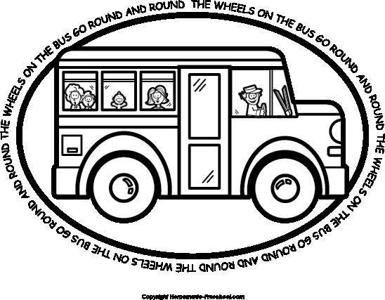 Free School Bus Clipart