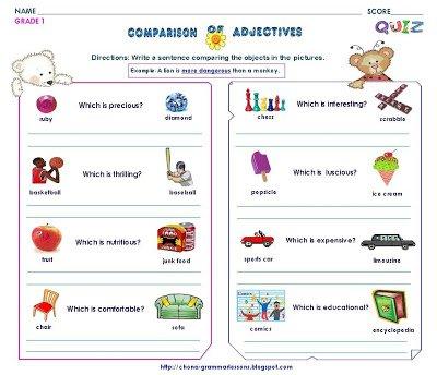 Grammar Worksheets  Gr 1