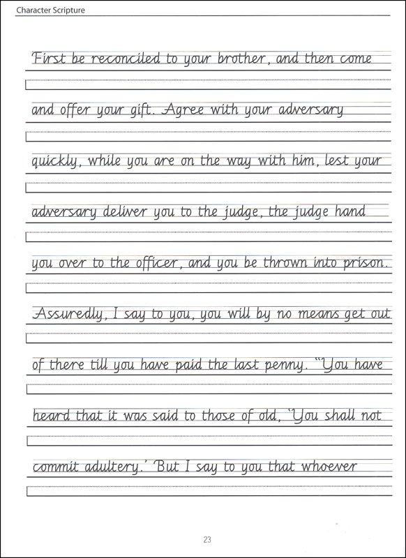 Handwriting Sentences Worksheets Free Worksheets Library