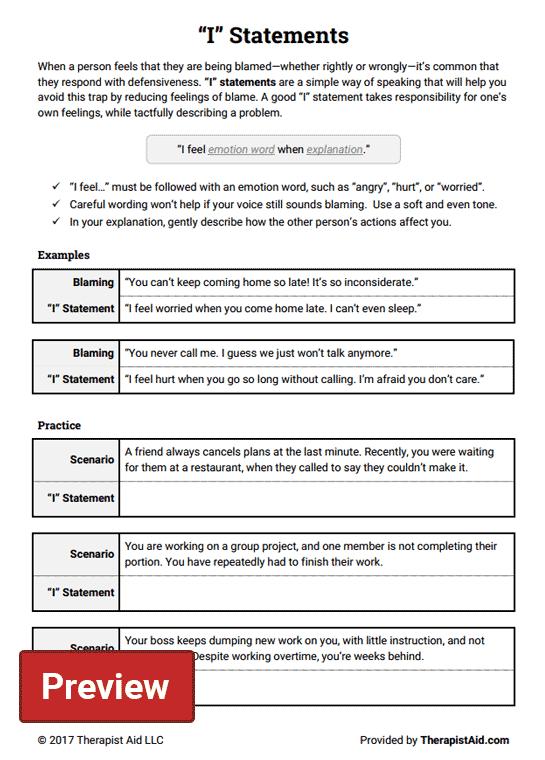 I  Statements (worksheet)