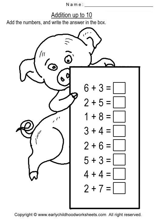 Index Of  Math Worksheets