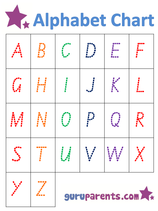 Learning Alphabet Worksheets Free Worksheets Library