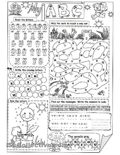 My Abc Worksheet