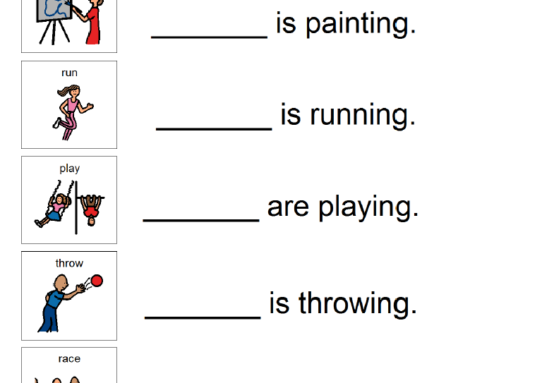 Pronoun Worksheets  He She They