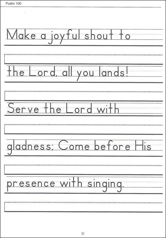 Zaner Bloser Handwriting Worksheets Pics Elegant Scripture