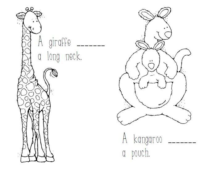 Zoo Animal & Sight Word Emergent Reader