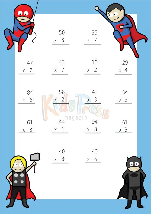 107 Best Multiplication Practice Worksheets & Bundles Images On