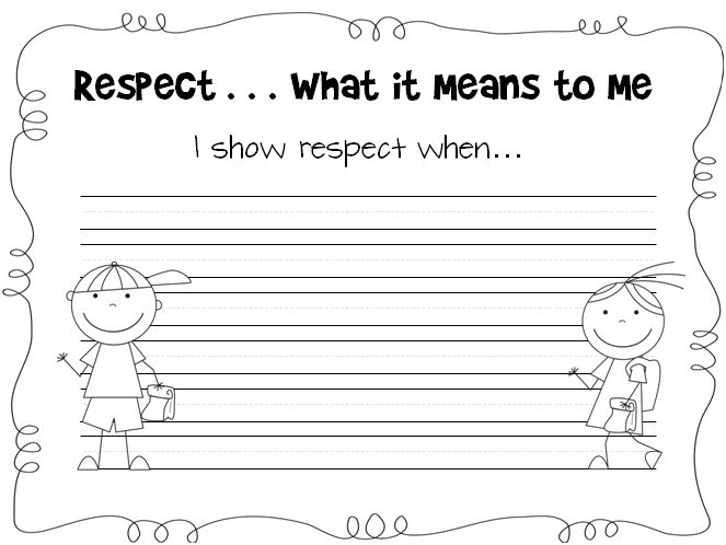 10 Best Respect Images On Free Worksheets Samples