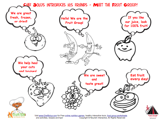 2010's Top 5 Nutrition Printouts For Kids