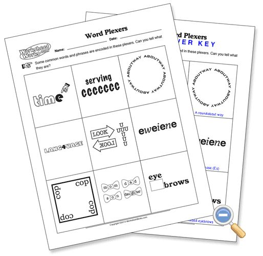21 Best Puzzles Images On Free Worksheets Samples