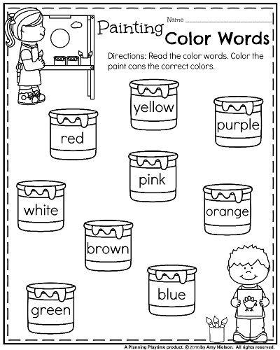 499 Best Kindergarten Worksheets Images On Free Worksheets Samples