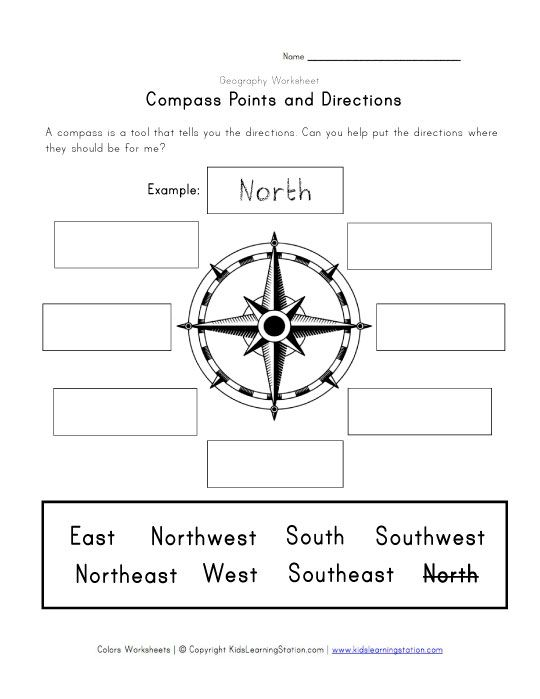 9 Best Geography Images On Free Worksheets Samples