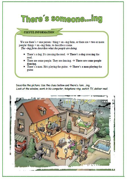 A Scene Worksheet