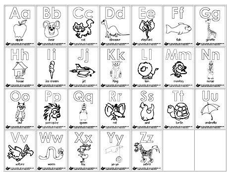 Abc Color Pages