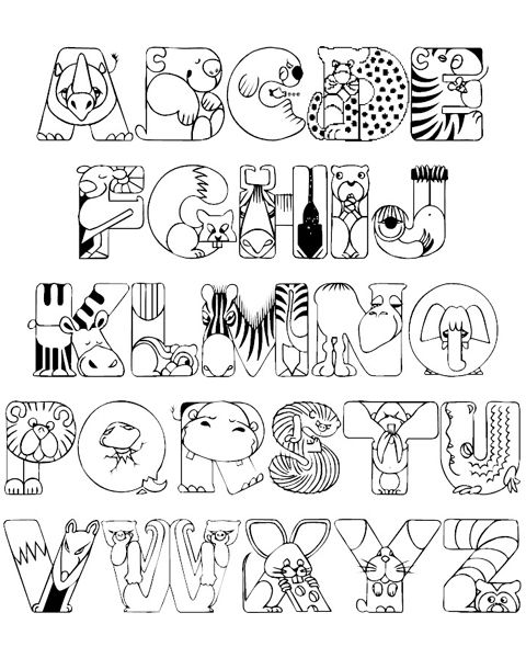 Abc Coloring Pages For Toddlers Alphabet Worksheets Letter B