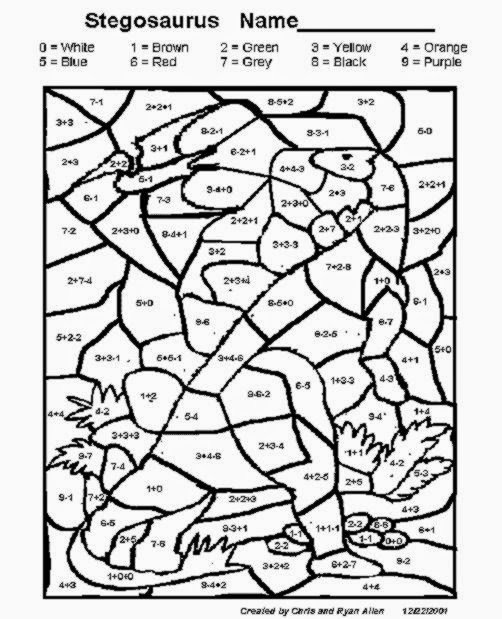 Addition And Subtraction Coloring Pages Many Interesting Cliparts