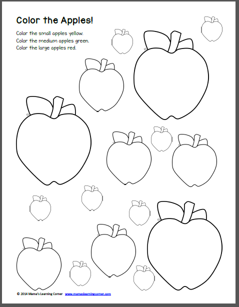Apple Worksheets Free Worksheets Library