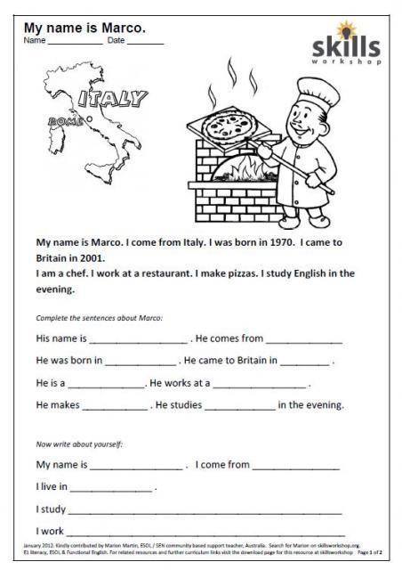 Beginner Reading Worksheets Free Worksheets Library