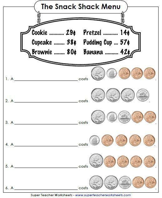 Best 25+ Money Worksheets Ideas On Free Worksheets Samples