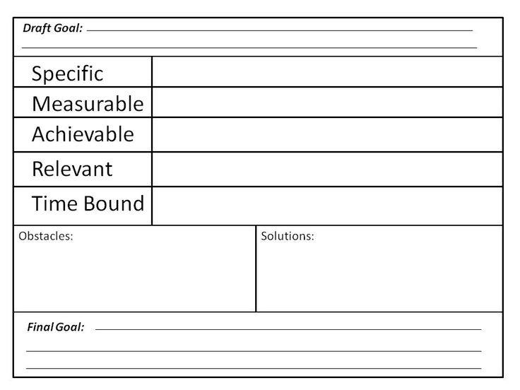 Best 25+ Smart Goals Worksheet Ideas On Free Worksheets Samples