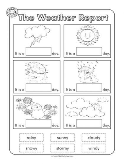 Best 25+ Weather Worksheets Ideas On Free Worksheets Samples