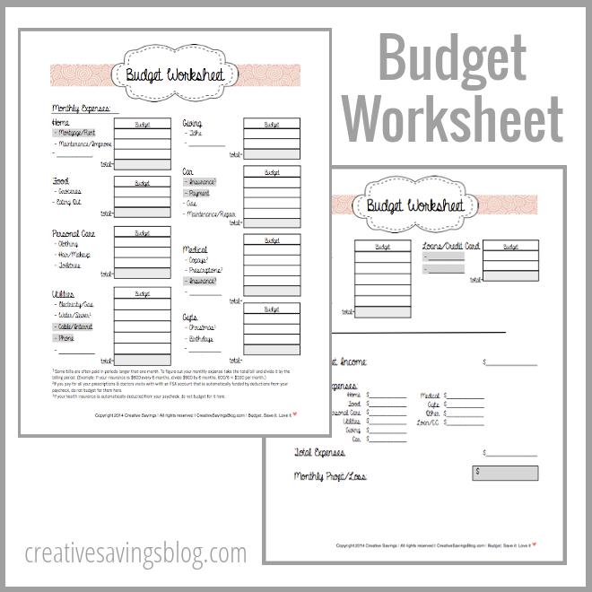 Budgetworksheetimagecategories1 Png (660×660)