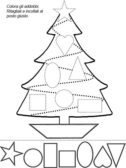 Christmas Worksheet Christmas Tree Activities – Merry Christmas