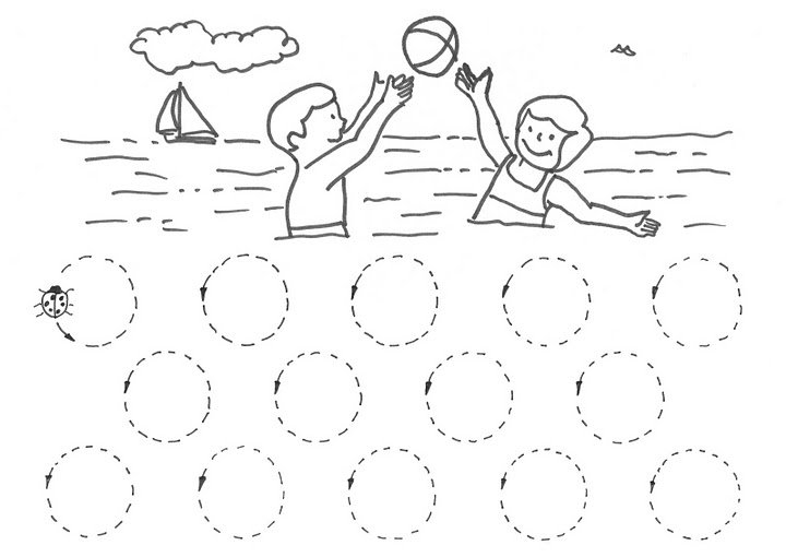 Circle Worksheets For Preschool