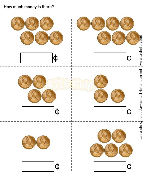Coin Worksheet And Lots Of Other Printable Learning Worksheets At