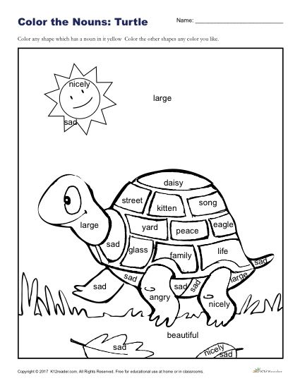 Color The Turtle