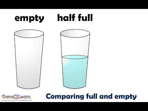 Comparing Full And Empty