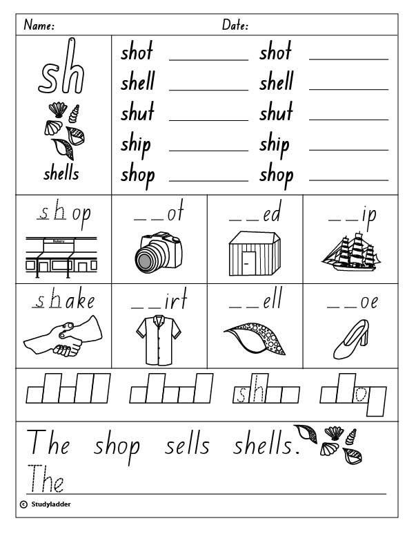 Consonant Digraph  Sh