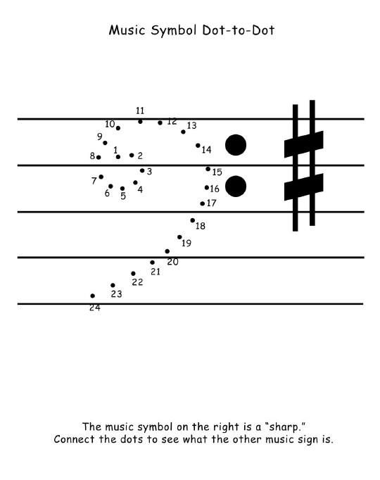 Dot To Dot Music Activity Bass Clef Free Download!