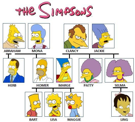 English Exercises  Simpsons Family Quiz