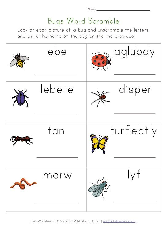 English Year 1 Kssr  Worksheet