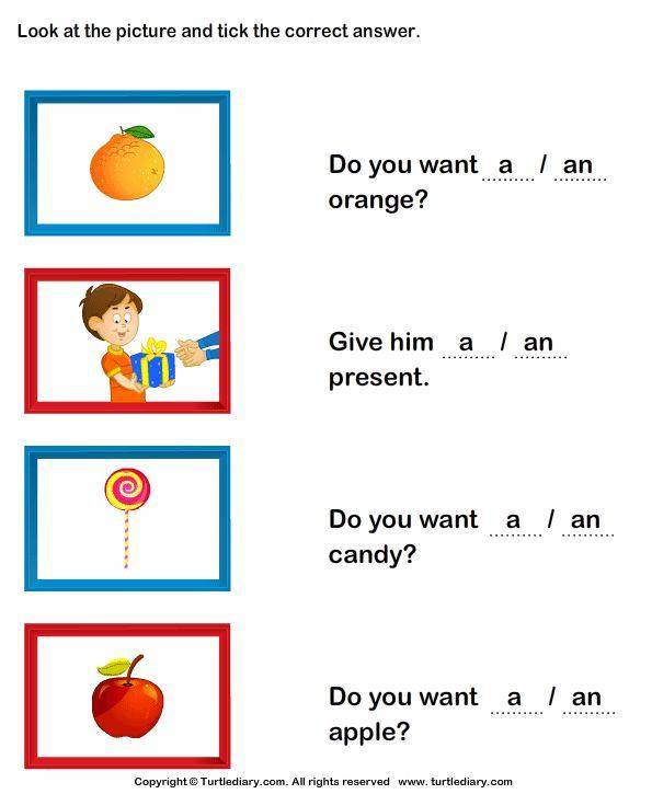 Esl Worksheets For Kindergarten Free Worksheets Library