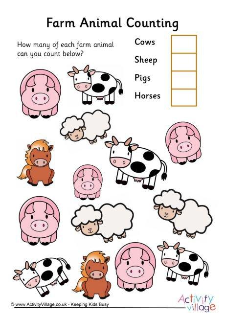 Farm Animal Counting 3