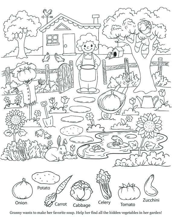 Find The Hidden Objects Printables Printable Hidden Objects