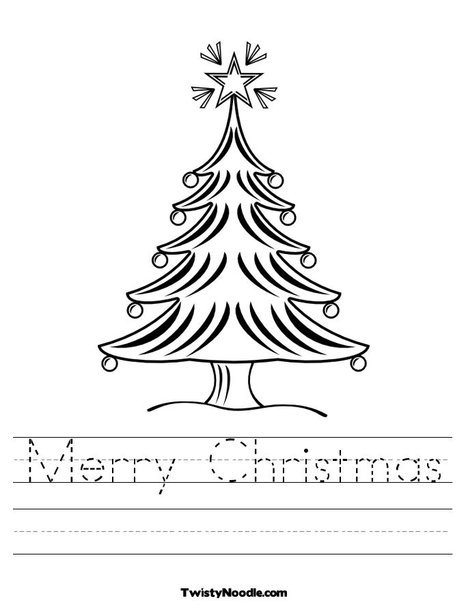 Free Coloring Pages Of Christmas Worksheet, Free Printable