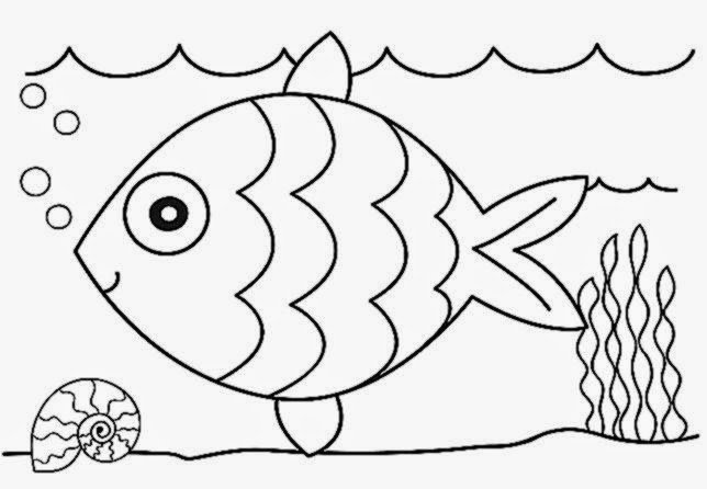 Free Coloring Sheets For Kindergarten