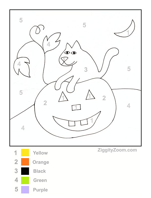 Free Halloween Printables For Kindergarten – Fun For Christmas