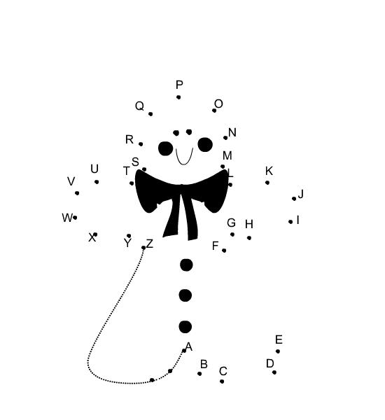 Free Printable Christmas Dot To Dot
