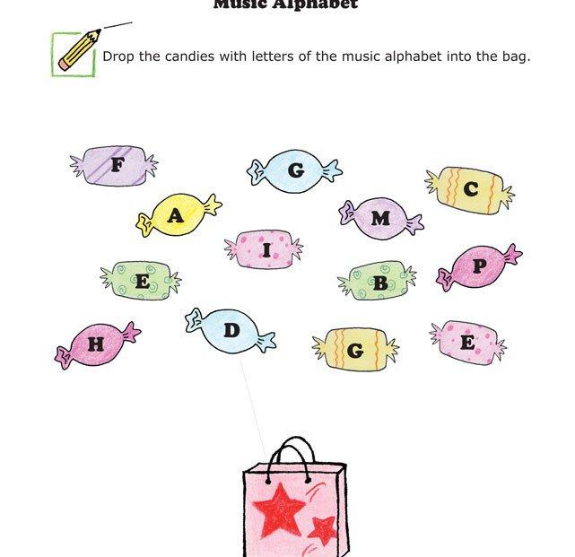 Free Worksheets » Alphabet Worksheet