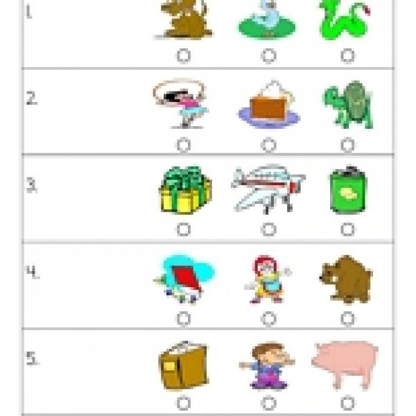 Free Worksheets » Preschool Grammar Worksheets